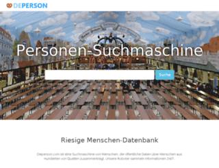 deperson.com screenshot