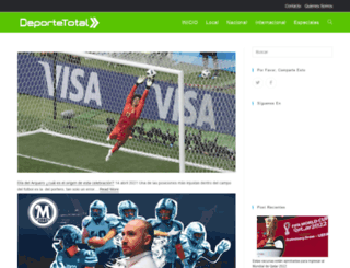 deportetotal.mx screenshot