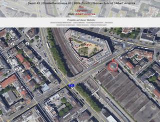 depot43.ch screenshot