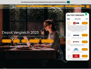 depotvergleich.com screenshot