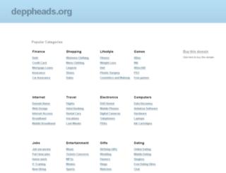 deppheads.org screenshot