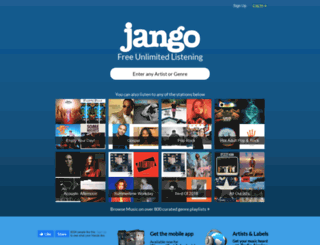 deprecated.jango.com screenshot