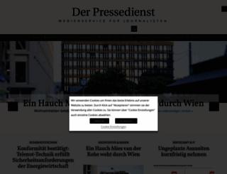 der-pressedienst.de screenshot