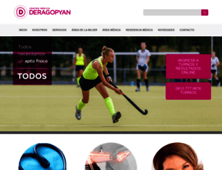 deragopyan.com.ar screenshot