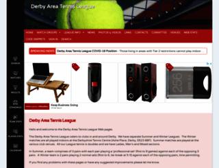 derbyareatennis.leaguerepublic.com screenshot