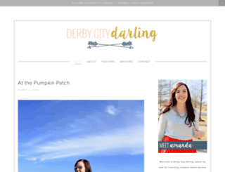 derbycitydarling.com screenshot