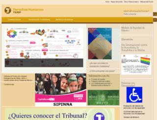 derechoshumanosdf.gob.mx screenshot