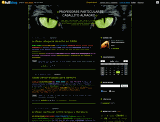 derechoyescritura.fullblog.com.ar screenshot