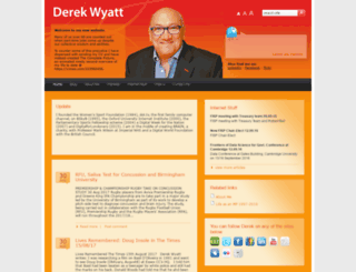 derekwyatt.co.uk screenshot
