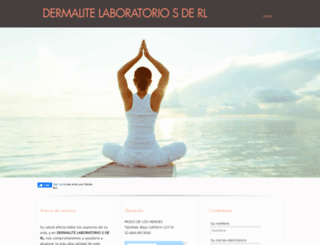 dermalitelab.com.mx screenshot