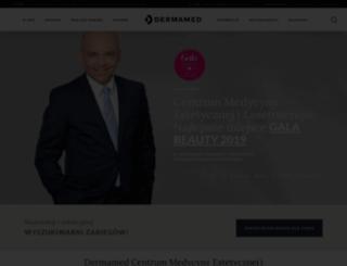 dermamed.com.pl screenshot
