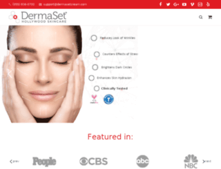 dermasetcream.com screenshot