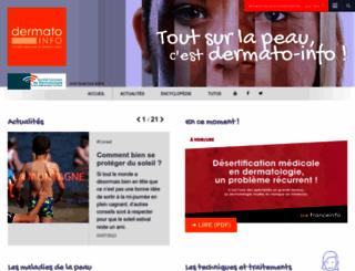 dermato-info.fr screenshot