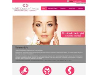 dermatologaenleon.com screenshot