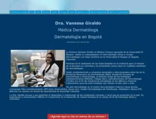 dermatologiabogota.com screenshot