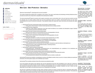 dermaviduals.com screenshot