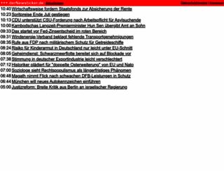 dernewsticker.de screenshot