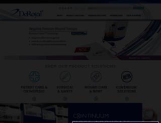 deroyal.com screenshot