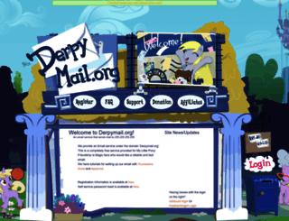 derpymail.org screenshot