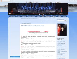 dersteknik.com screenshot