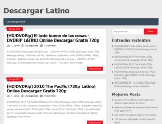 descargarlatino.org screenshot