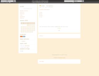 descendend.dreamwidth.org screenshot