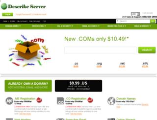 describeserver.com screenshot