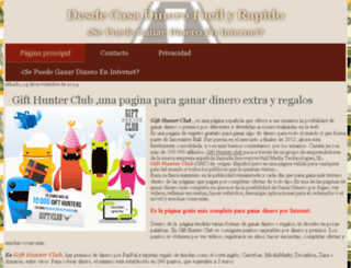 desdecasadinerofacil.blogspot.com.es screenshot