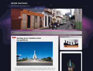 desdesantiago.wordpress.com screenshot