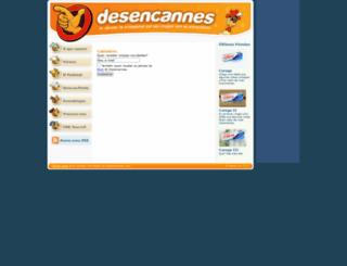 desencannes.com screenshot