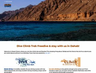 desert-divers.com screenshot