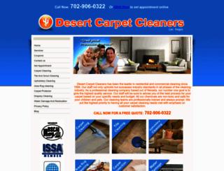 desertcarpetcleaner.com screenshot