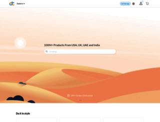 desertcart.com screenshot