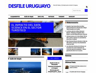 desfileuruguayo.com screenshot