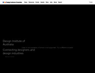 design.org.au screenshot