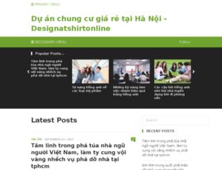 designatshirtonline.com screenshot