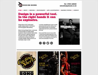designbomb.co.uk screenshot