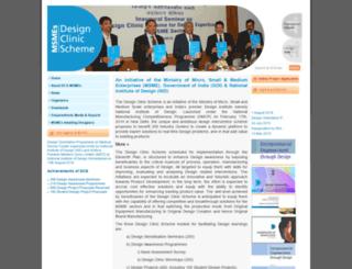 designclinicsmsme.org screenshot