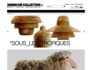 designdecollection.fr screenshot