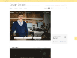 designdelight.net screenshot