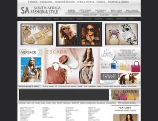 designer-clothes.co.za screenshot