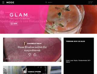 designer.glam.de screenshot