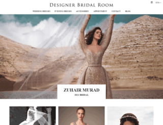 designerbridalroom.com.hk screenshot