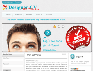 designercv.com screenshot