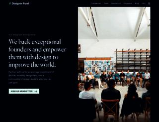 designerfund.com screenshot