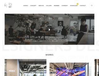 designers-office.jp screenshot