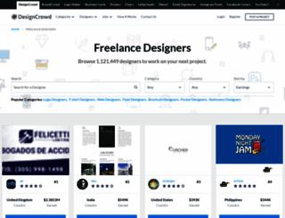 designers.designcrowd.ae screenshot