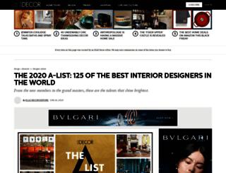 designers.elledecor.com screenshot