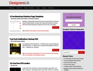 designerslib.com screenshot
