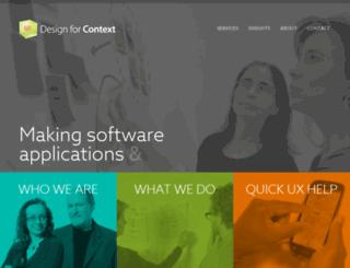 designforcontext.com screenshot